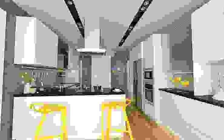 Modern kitchen by Murat Aksel Architecture Modern Wood Wood effect