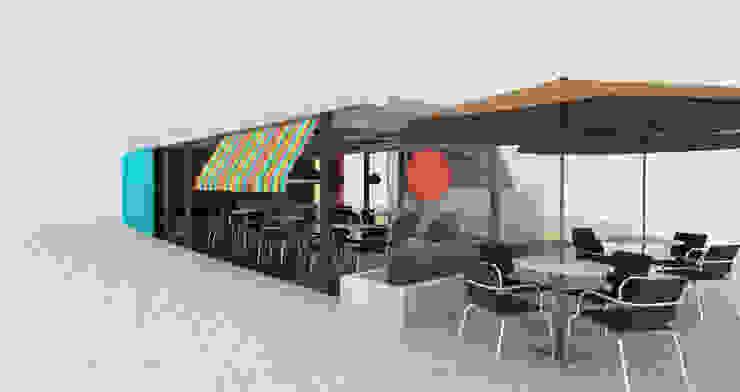 Restaurante _ Isabellas Place de @tresarquitectos Moderno