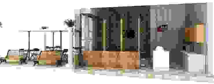 TARQUINO _ CAFÉ de @tresarquitectos Moderno