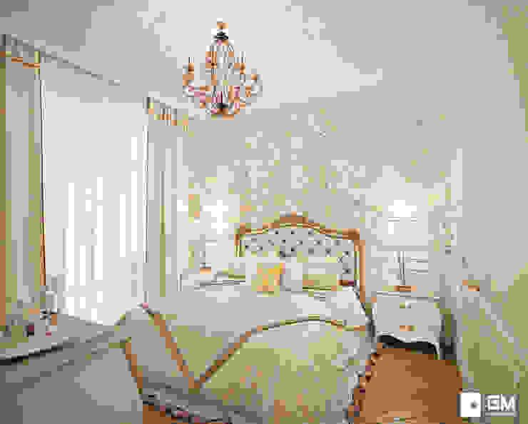 Классический дизайн квартиры на Остоженке Спальня в классическом стиле от GM-interior Классический