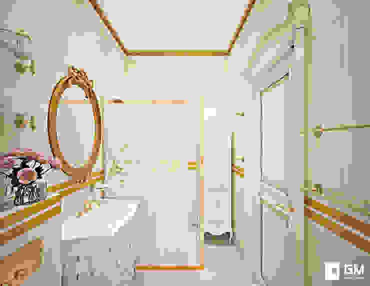 Классический дизайн квартиры на Остоженке: Ванные комнаты в . Автор – GM-interior, Классический