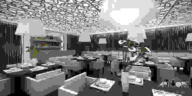 Salones de eventos de estilo moderno de ArtCore Design Moderno
