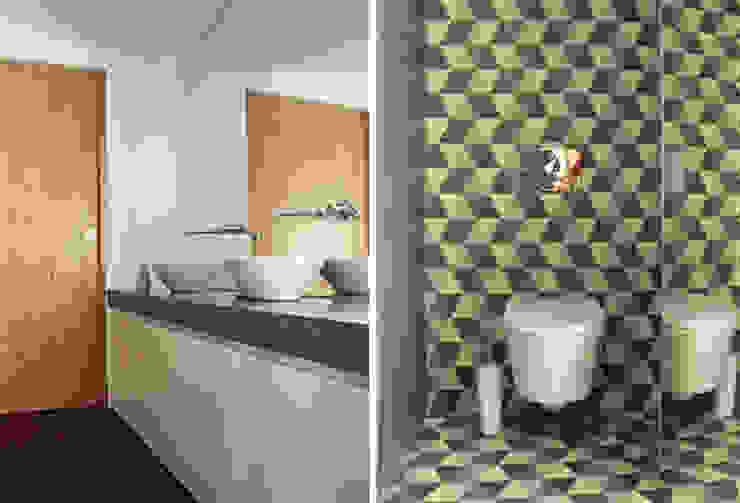 Casa na Póvoa de Varzim Casas de banho modernas por ASVS Arquitectos Associados Moderno