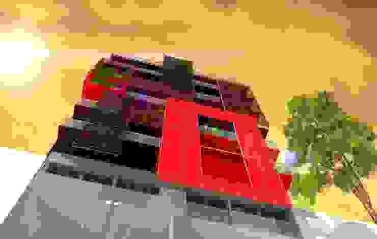 Case moderne di Arq. Jose F. Correa Correa Moderno