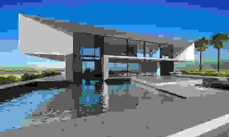 T house | 300m2 Дома в стиле минимализм от ALEXANDER ZHIDKOV ARCHITECT Минимализм