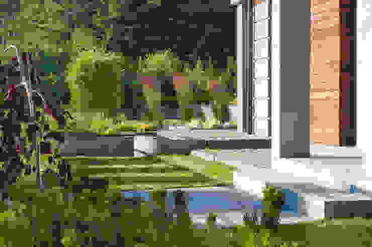 Modern Bahçe Pracownia Projektowa Architektury Krajobrazu Januszówka Modern