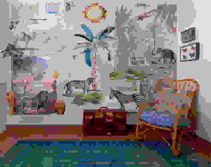 Mural Africa Comedores de estilo ecléctico de Bloompapers Ecléctico