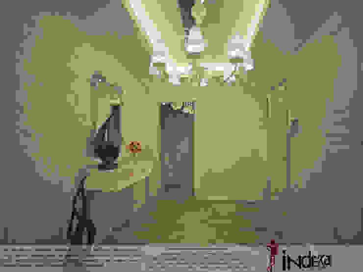 YAŞANILABİLECEK ALANLAR TASARLIYOR VE YAPIYORUZ.. Klasik Koridor, Hol & Merdivenler İNDEKSA Mimarlık İç Mimarlık İnşaat Taahüt Ltd.Şti. Klasik Granit