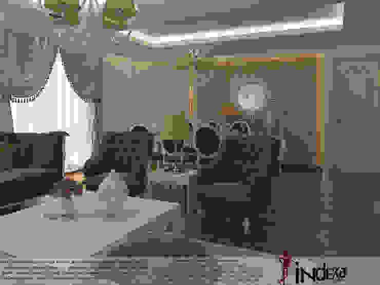 classic  by İNDEKSA Mimarlık İç Mimarlık İnşaat Taahüt Ltd.Şti., Classic Textile Amber/Gold