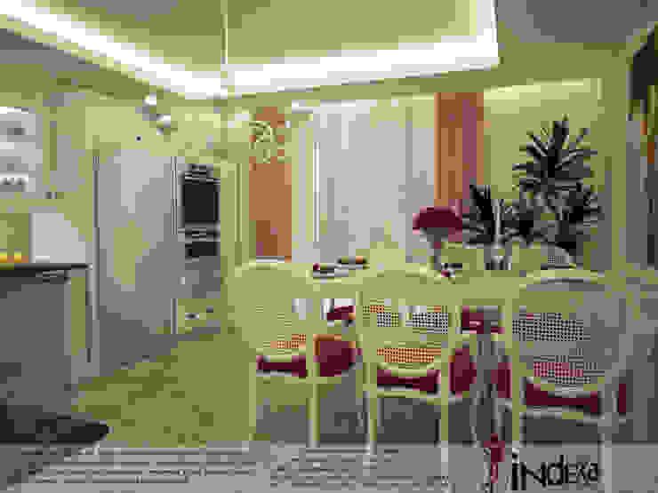 Cuisine classique par İNDEKSA Mimarlık İç Mimarlık İnşaat Taahüt Ltd.Şti. Classique Bois Effet bois