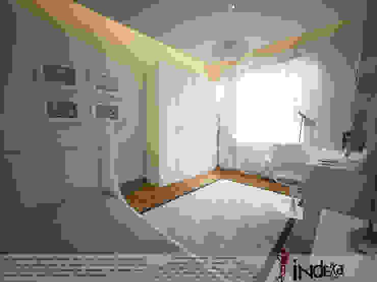 Modern Kid's Room by İNDEKSA Mimarlık İç Mimarlık İnşaat Taahüt Ltd.Şti. Modern Wood Wood effect