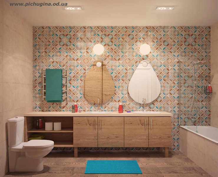 Modern Bathroom by Tatyana Pichugina Design Modern