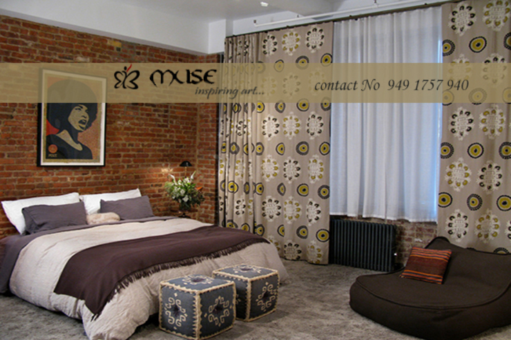 Residential pProjects Modern style bedroom by Muse Interiors Modern