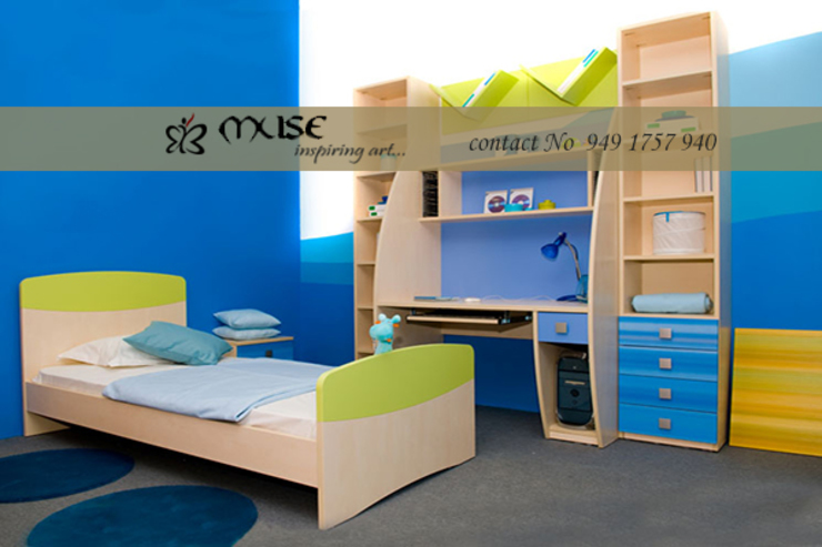 Residential pProjects Modern nursery/kids room by Muse Interiors Modern