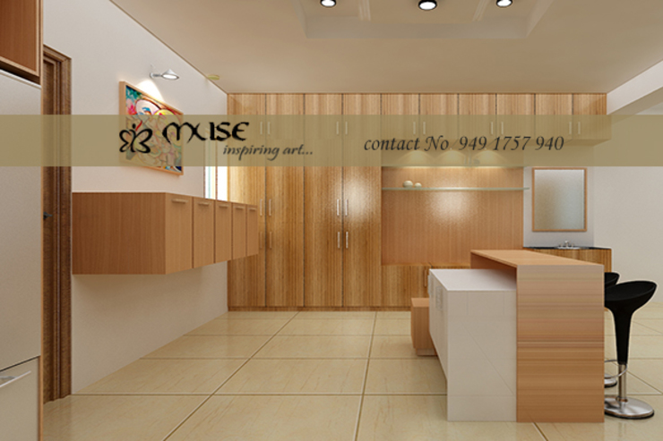 Residential pProjects Modern kitchen by Muse Interiors Modern