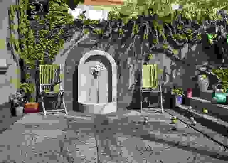 Çeşme Ön Görünüş Akdeniz Bahçe EMG Mimarlik Muhendislik Proje Çanakkale 0 286 222 01 77 Akdeniz Mermer