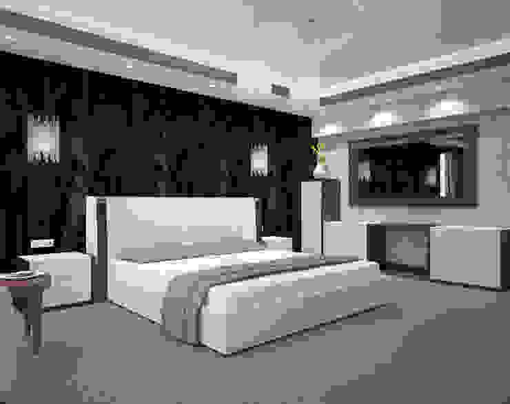 Menz Design – Yatak Odası : modern tarz , Modern