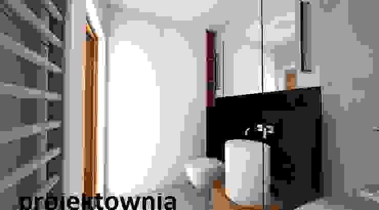 apartament Villa Park Nowoczesna łazienka od Projektownia Marzena Dąbrowska Nowoczesny