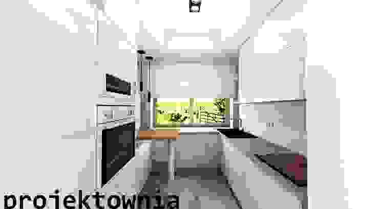 apartament Villa Park Nowoczesna kuchnia od Projektownia Marzena Dąbrowska Nowoczesny