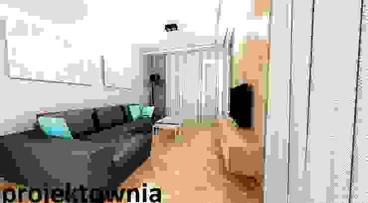 apartament Villa Park Nowoczesny salon od Projektownia Marzena Dąbrowska Nowoczesny