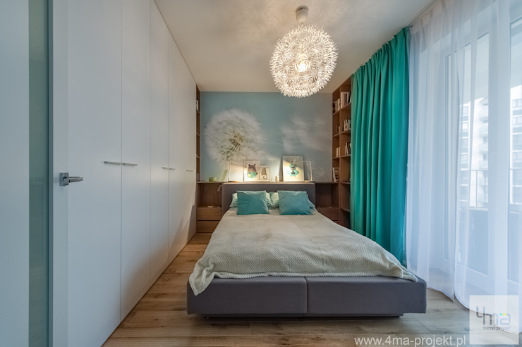 Modern style bedroom by 4ma projekt Modern