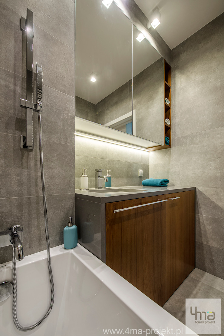 Modern bathroom by 4ma projekt Modern