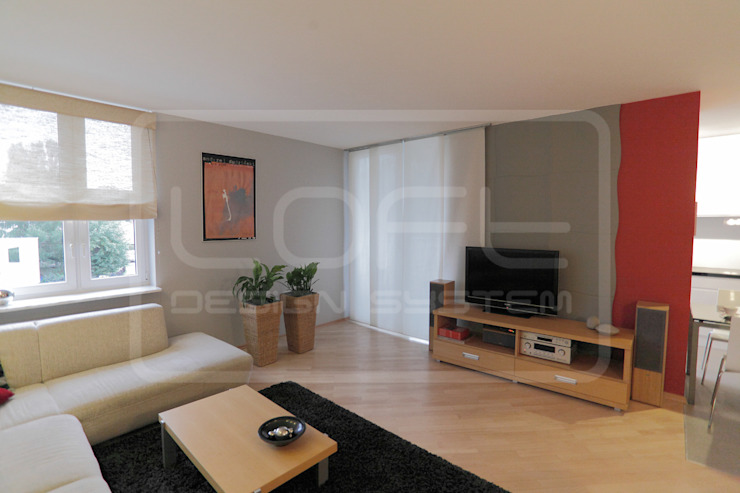 Panele Dekoracyjne 3D - Loft Design System - model Flutter od Loft Design System Nowoczesny