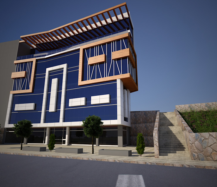 Casas modernas de H.E: Mimarlık Moderno