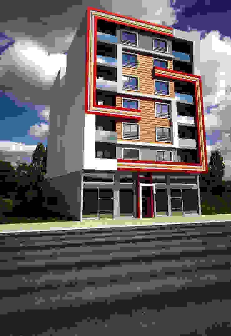 Adnan Bey Konut Projesi Modern Evler H.E: Mimarlık Modern