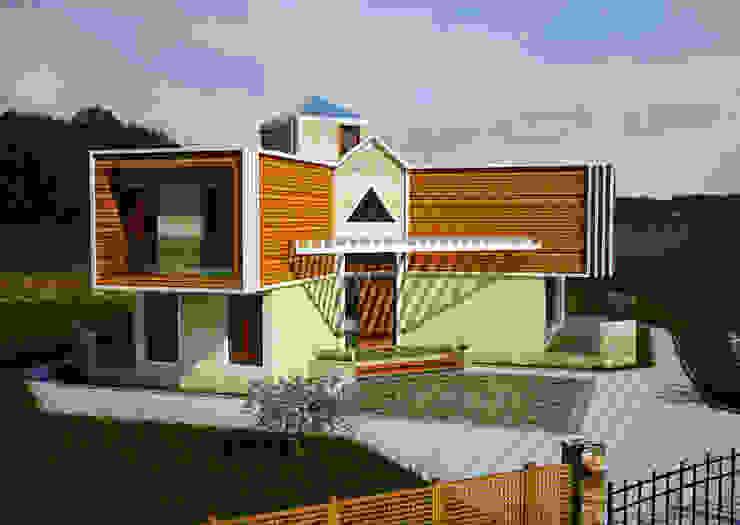 Modern home by H.E: Mimarlık Modern