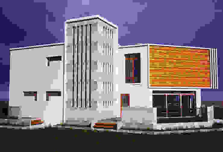 Ahmet Bey Edremit Villa Projesi H.E: Mimarlık Modern Evler