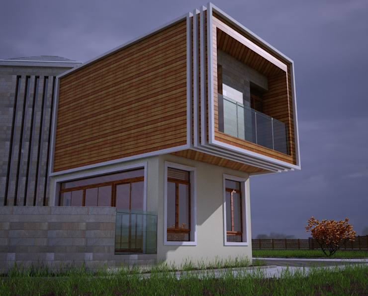 บ้านและที่อยู่อาศัย โดย H.E: Mimarlık, โมเดิร์น