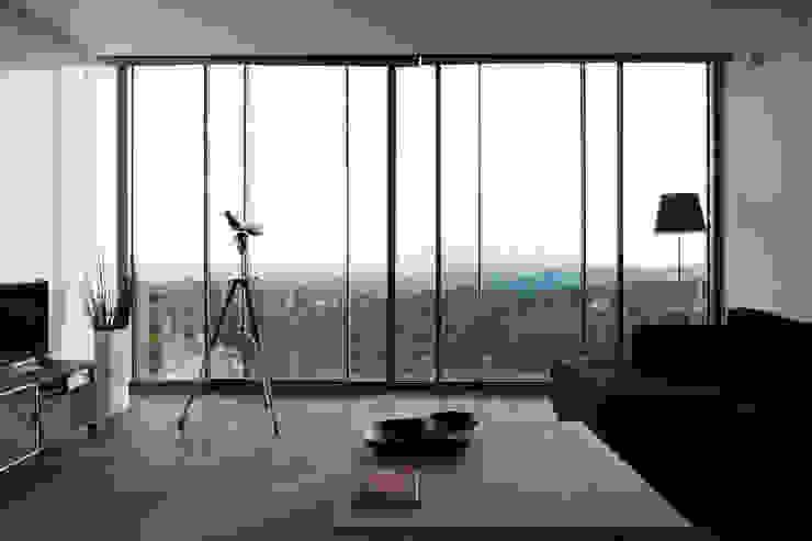 Vivienda Unifamiliar Salones de estilo moderno de Eduardo Irago Fotografia Moderno