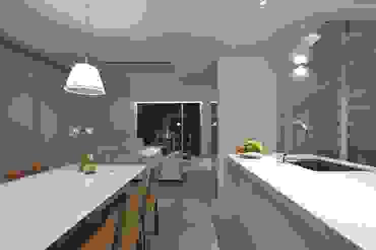 SAKURA SAKURA SAKURA HOUSE モダンデザインの ダイニング の Mアーキテクツ|高級邸宅 豪邸 注文住宅 別荘建築 LUXURY HOUSES | M-architects モダン