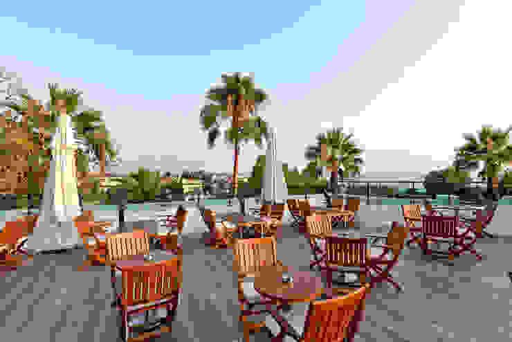 Restoran Terası Akdeniz Balkon, Veranda & Teras Nota Tasarım Peyzaj Mimarlığı Ofisi Akdeniz
