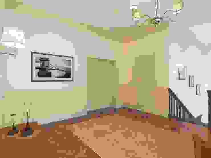 Неоклассика: визуализация и дизайн Дома Досуга Коридор, прихожая и лестница в классическом стиле от OK Interior Design Классический