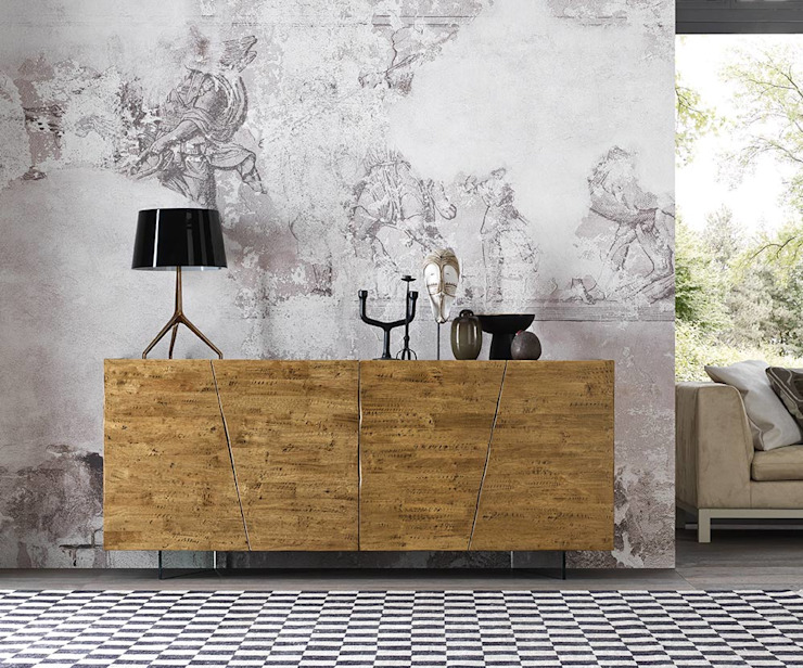 rustic  by homify, Rustic Wood Wood effect