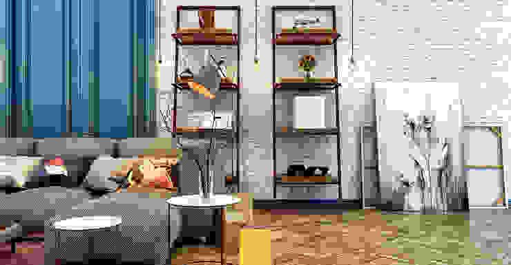 Projekty,  Salon zaprojektowane przez Penintdesign İç Mimarlık , Nowoczesny