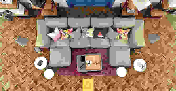 Salones de estilo moderno de Penintdesign İç Mimarlık Moderno