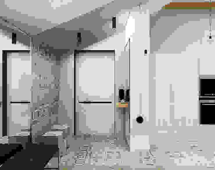 Pasillos, halls y escaleras minimalistas de he.d group Minimalista