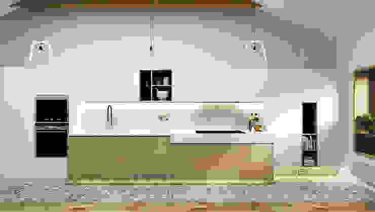 Cocinas de estilo minimalista de he.d group Minimalista