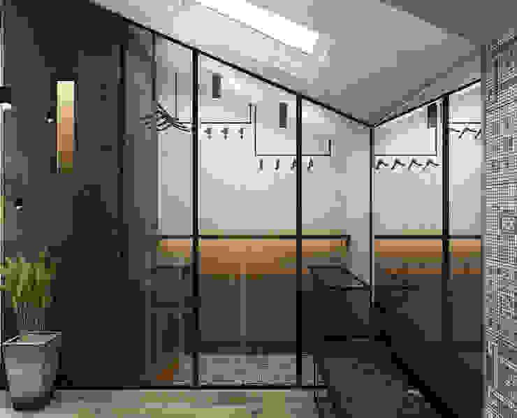 Walk in closets de estilo minimalista de he.d group Minimalista
