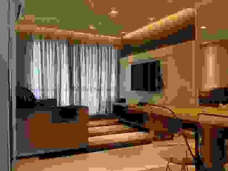 Living por Emerson Penso Arquitetura e Interiores