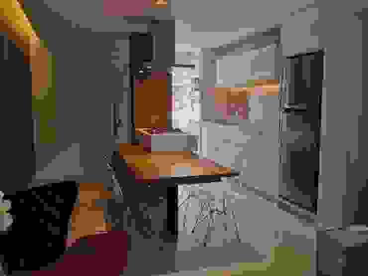 Entrada e Gourmet por Emerson Penso Arquitetura e Interiores