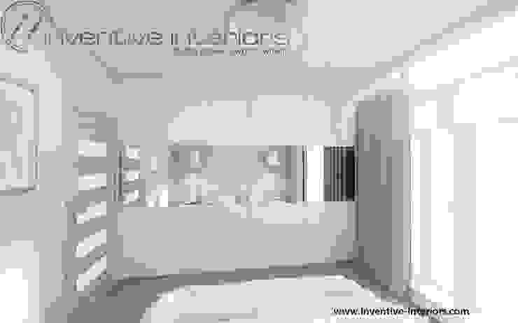 Inventive Interiors jasna przytulna sypialnia Nowoczesna sypialnia od Inventive Interiors Nowoczesny