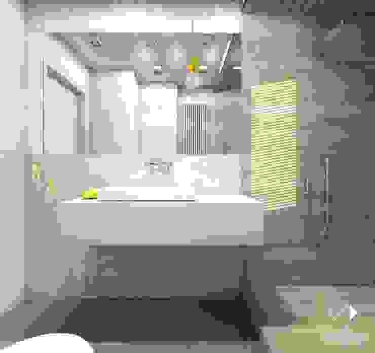 Łazienka w drewnie Nowoczesna łazienka od Architekt wnętrz Klaudia Pniak Nowoczesny