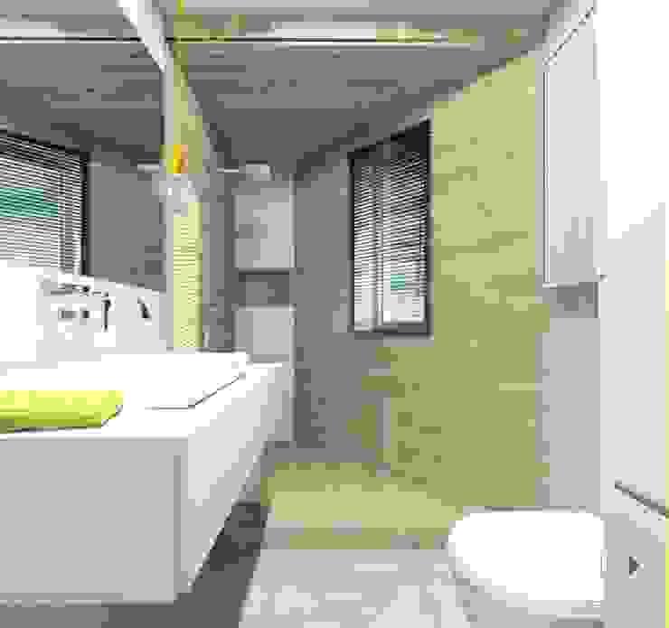 Łazienka Nowoczesna łazienka od Architekt wnętrz Klaudia Pniak Nowoczesny