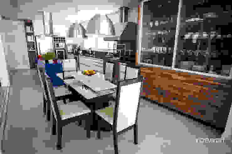 Cozinha Cozinhas modernas por Roma Arquitetura Moderno