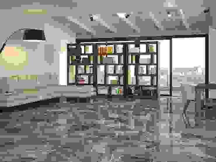 INTERAZULEJO Ruang Keluarga Klasik Grey