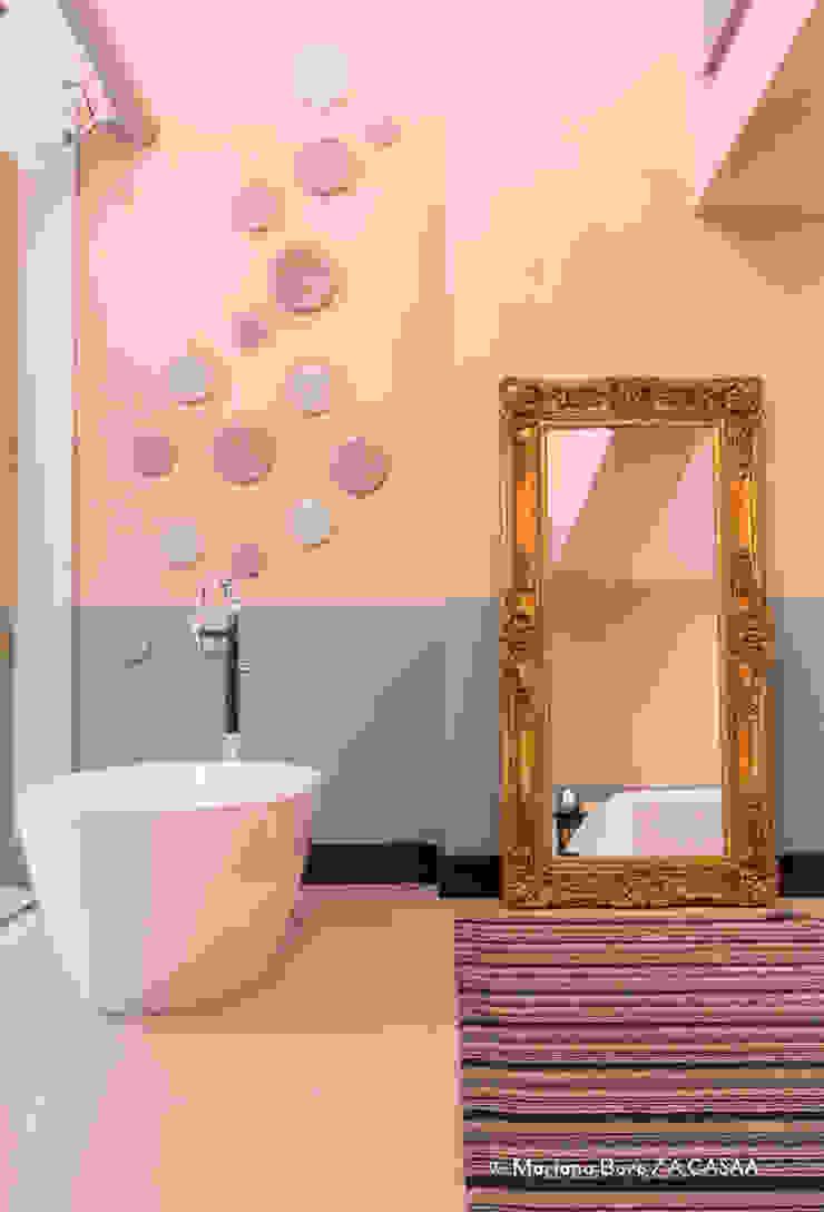 Suite Candy Colors por Jean Felix Arquitetura Minimalista
